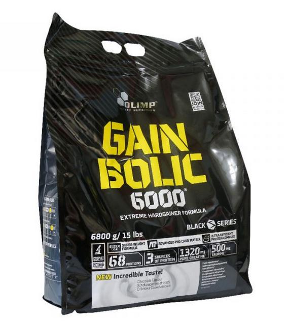 مکمل ورزشی گین بولیک 6000 الیمپ